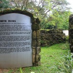 <b>Bohol Tours and Tourist Spots - The Historic Ermita Ruins</b>