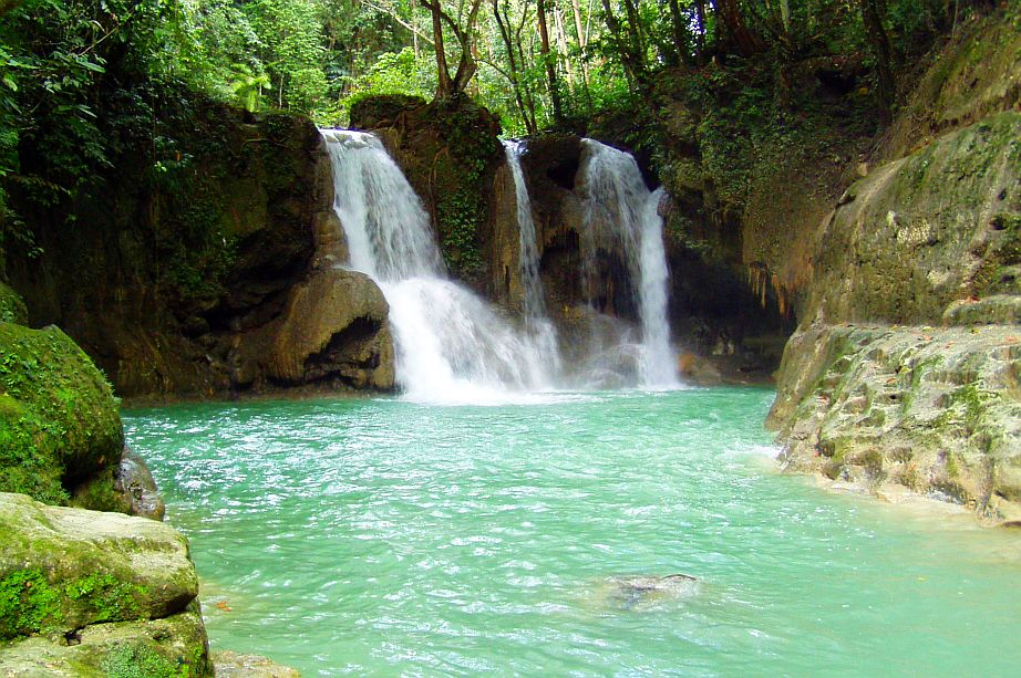 The Mag Aso Falls In Antequera Bohol Philippines Info