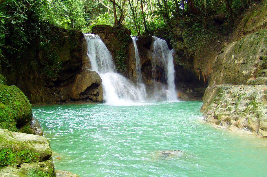 Mag-aso Falls in Antequera