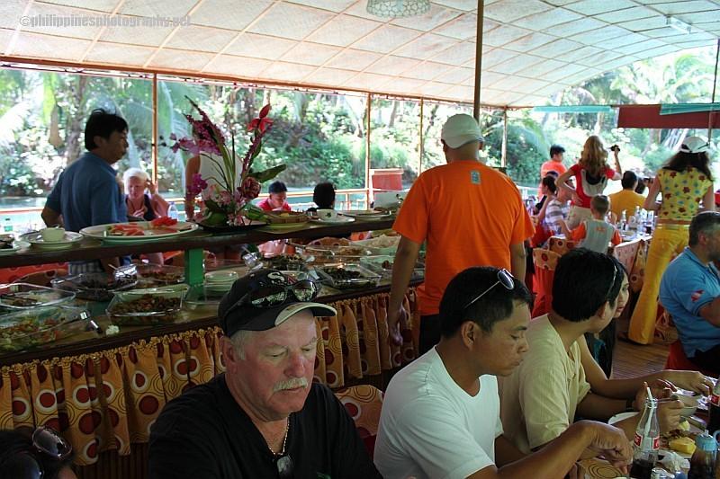 Loboc river cruise food porn