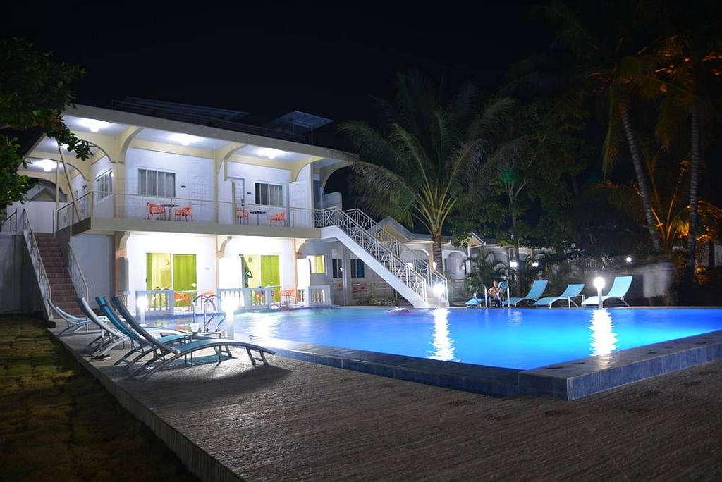 Virgin island beach resort